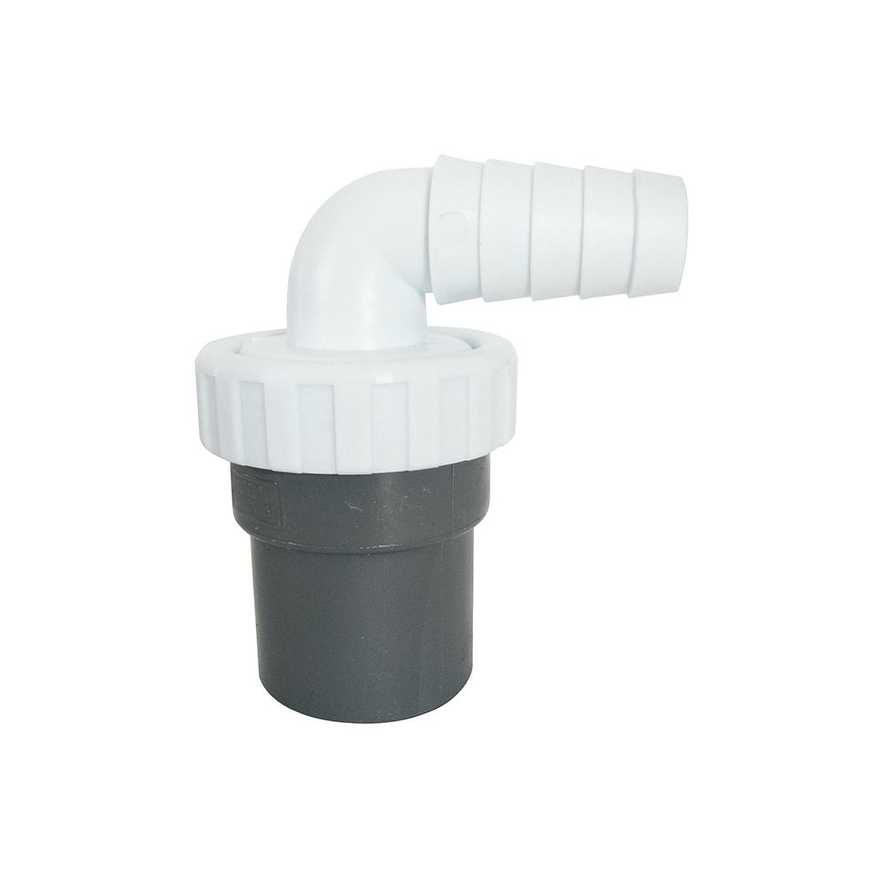 Enlace Mixto - Tubos Lisos - 1 Toma - Plastico Pvc