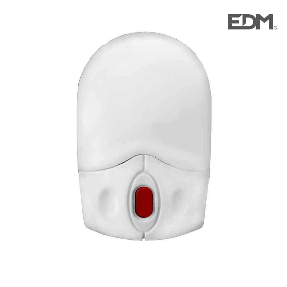 Piloto De Noche Con Led Blanco Y Interruptor 2W Edm