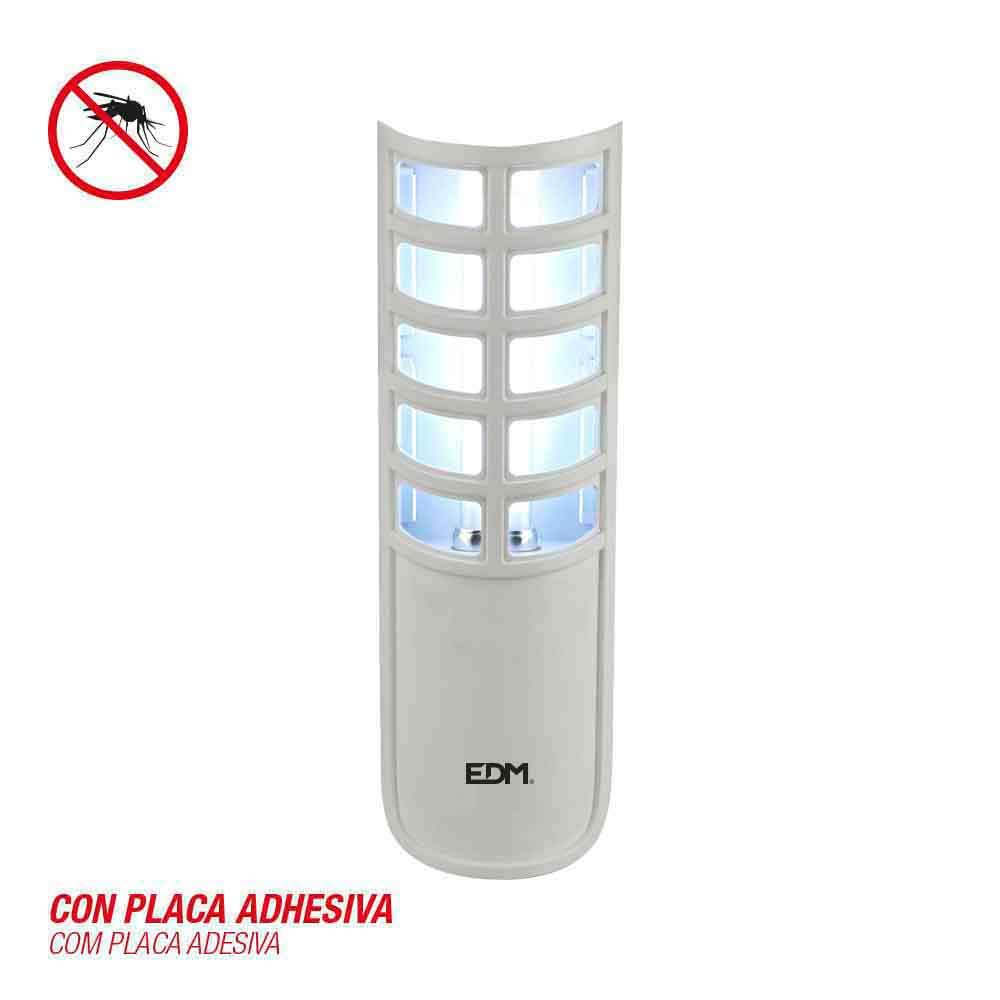 Mata Insectos Electrico 9W Con Placa Adhesiva 220/240V