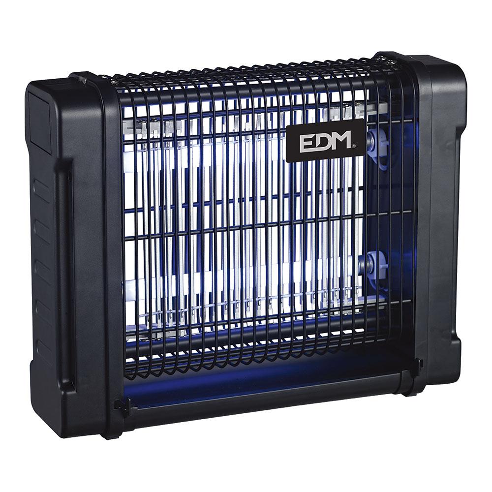 Mata Insectos Electrico Con Tubos Uv De 2X6W 340º Edm