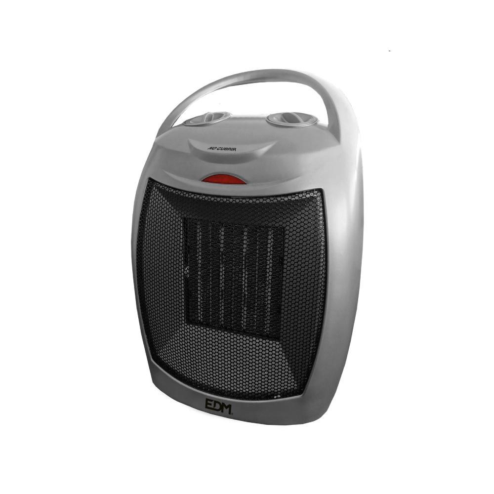 Calefactor De Suelo Ceramico - Modelo Silver - 750-1500W - Edm