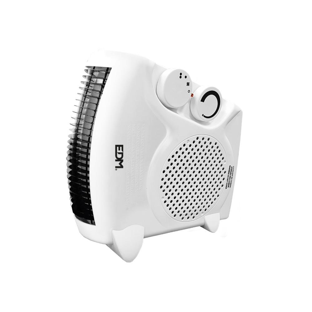 "Calefactor Compacto - Modelo ""2 En 1"" - 1000-2000W -  Edm"