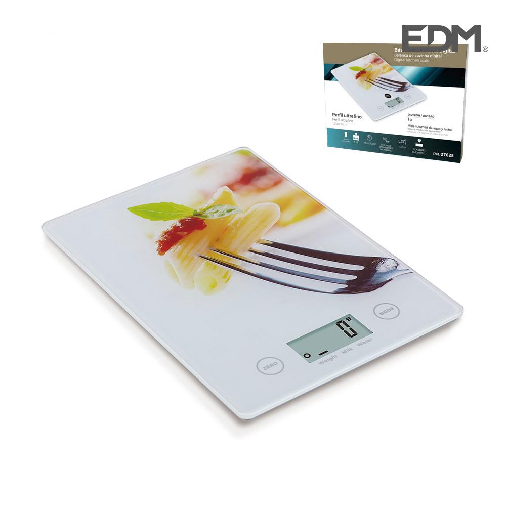 Bascula Cocina Digital Modelo Pasta Max. 5Kg Edm