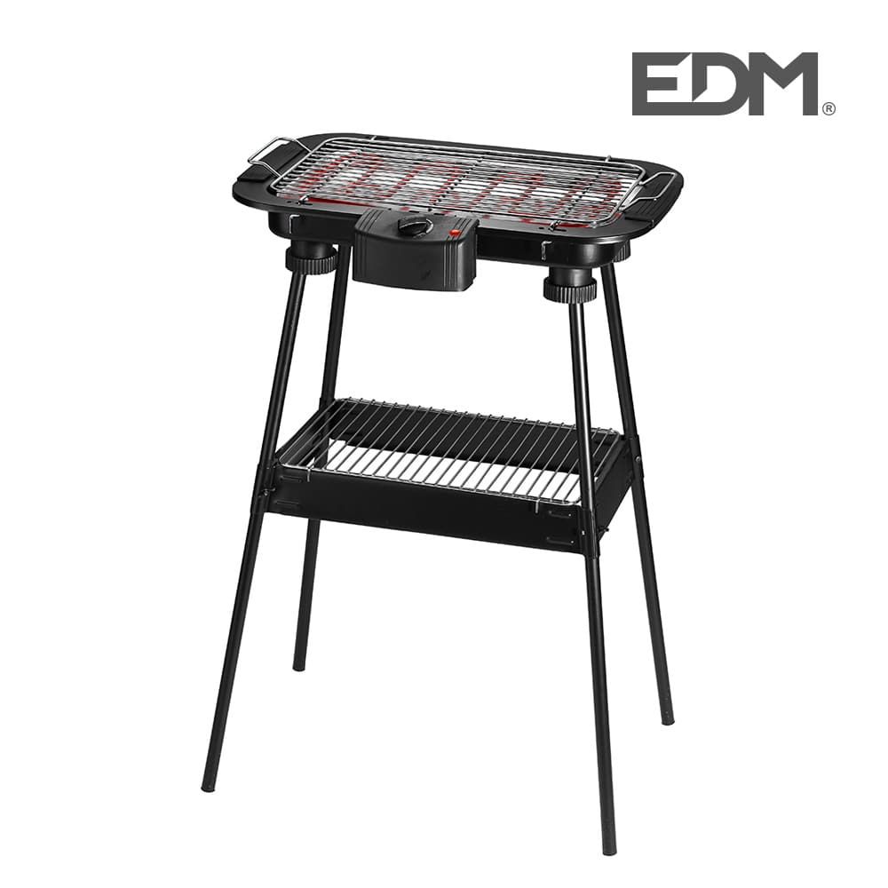 Barbacoa Electrica De Pie - 2000W - Edm