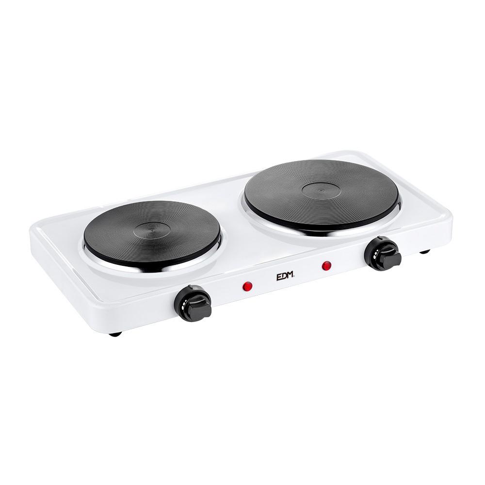 Cocina Electrica - 2 Fuegos - 1000-1500W - Edm
