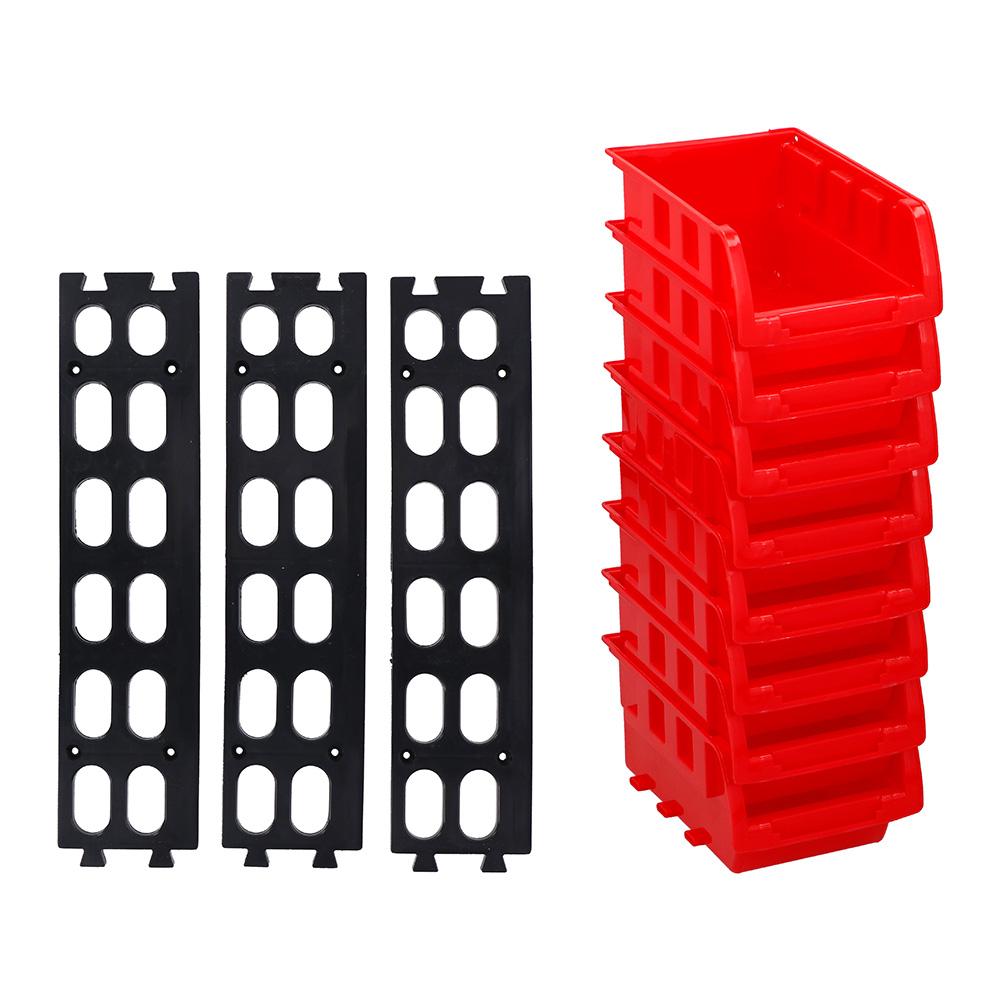 Set De 8 Mini Gavetas Apilables 12X10Cm