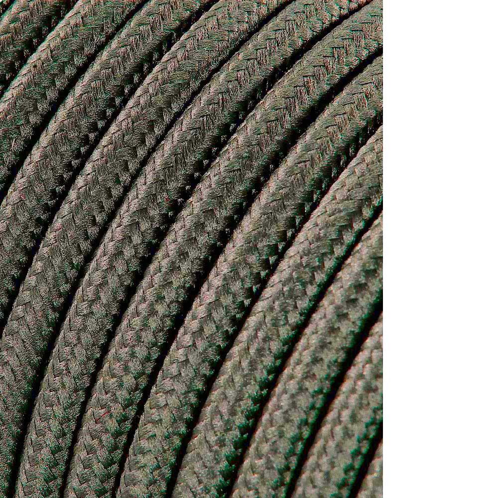 Cable Cordon Tubulaire 2X0,75Mm C63 Gris Oscuro 5Mts