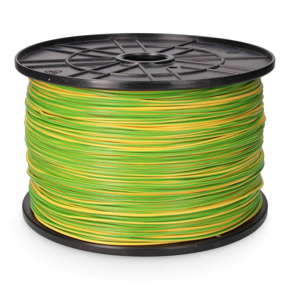 Carrete Cablecillo 2,5Mm Bicolor 500Mts (Bobina Grande)
