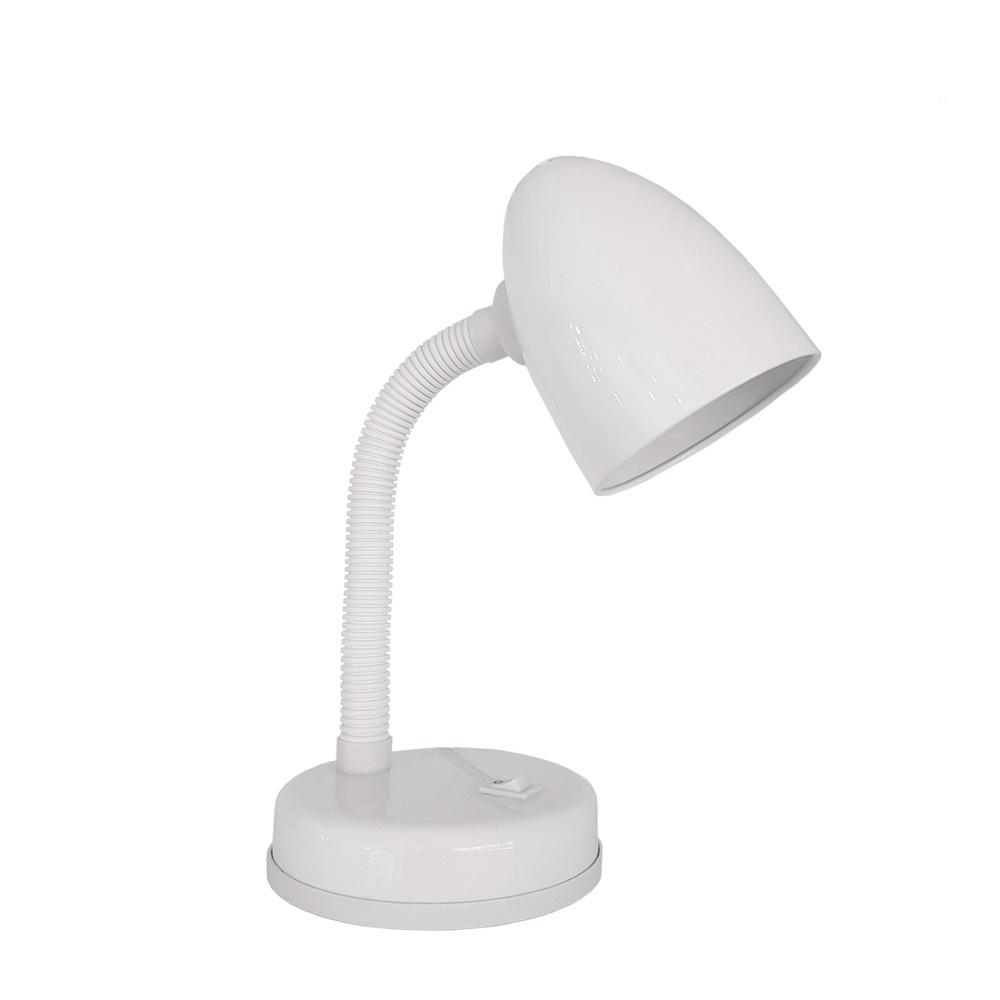 Flexo De Sobremesa Modelo Amsterdam E27 60W Blanco Edm