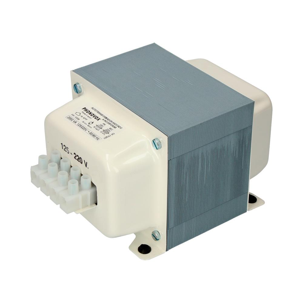 Autotransformador Reversible 2.500Va (1750W) 125-220 V