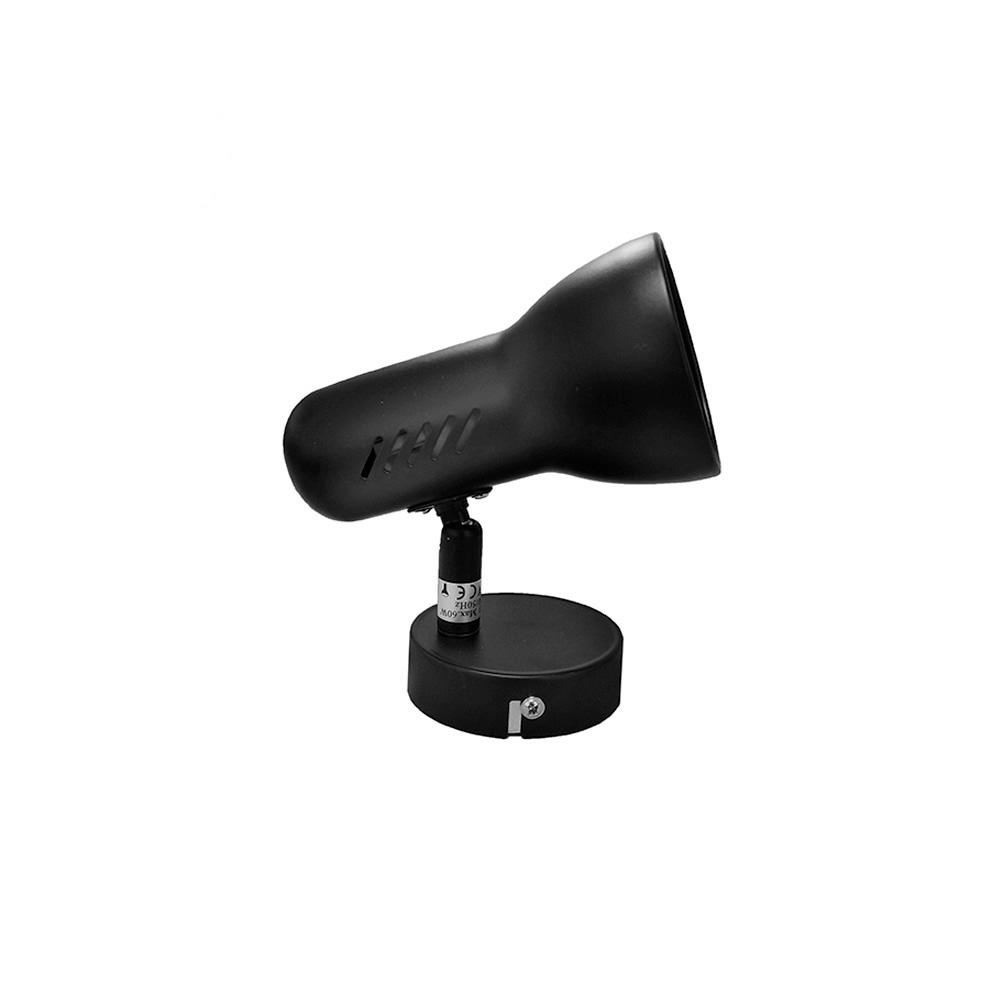 Foco 1 Elemento Negro Modelo Galaxy Edm