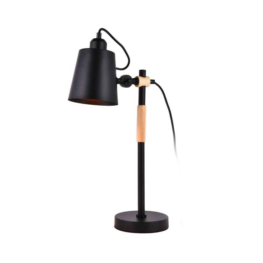 Flexo Simple  E27 Negro Edm
