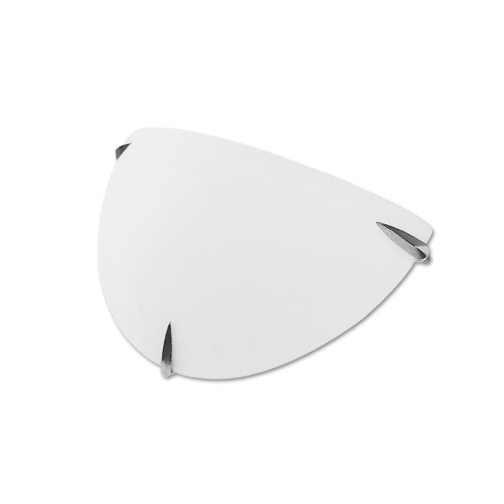 Aplique Cristal Edm 1X60W E27 Ø30X15X8 Cm