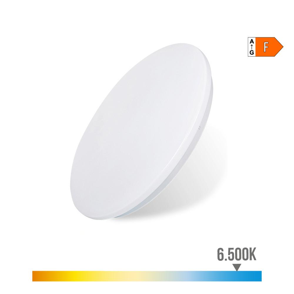 Aplique Superficie Led Extraplano 12W 840 Lumens 6.500K Circular 26,5X5,7Cm Edm