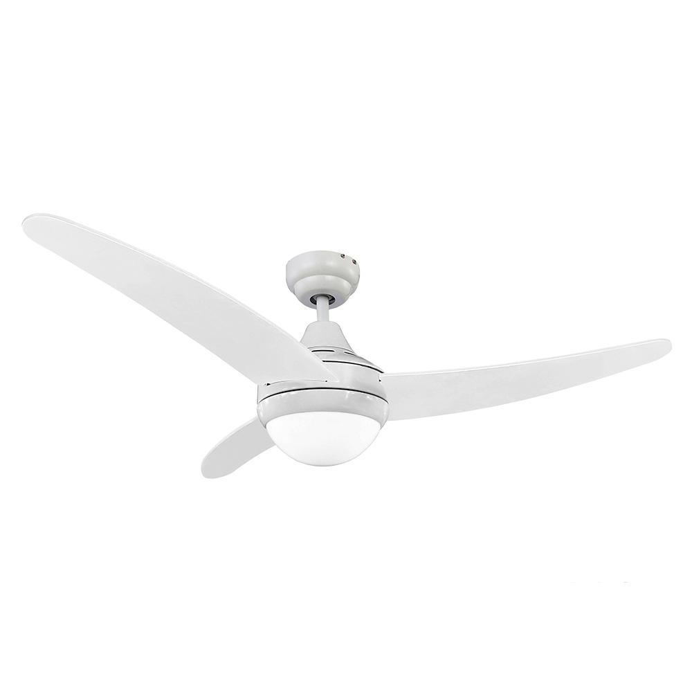 Ventilador de techo modelo egeo blanco 60w ø aspas 122 cm edm
