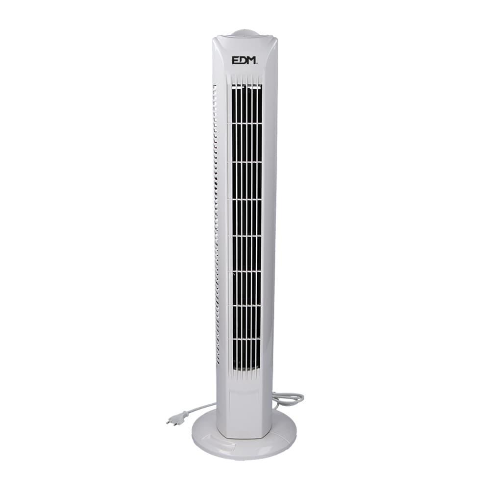Ventilador torre blanco 45w edm