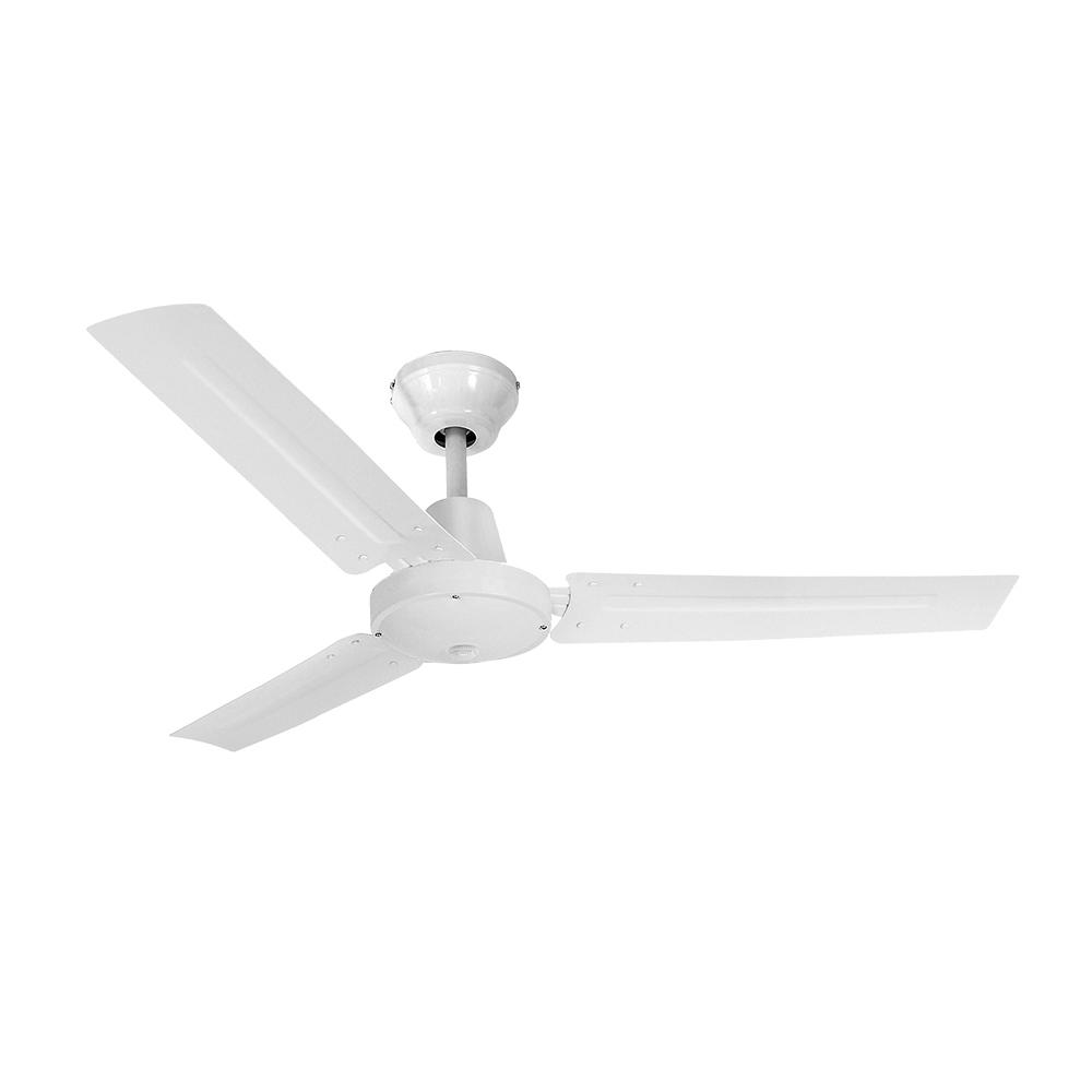 Ventilador de techo modelo industrial blanco 60w ø aspas 140 cm edm
