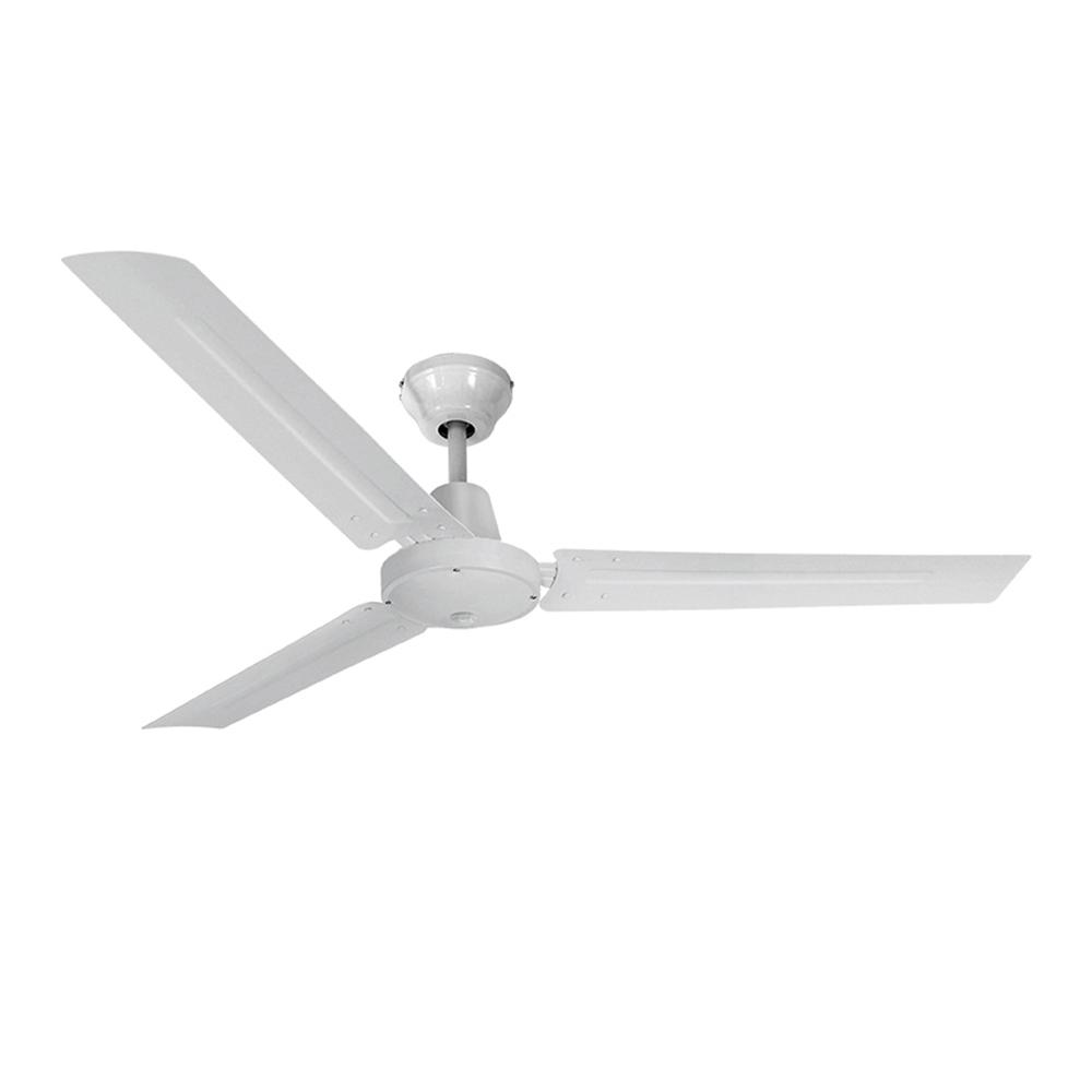 Ventilador de techo modelo mini industrial blanco 60w ø aspas 120 cm edm