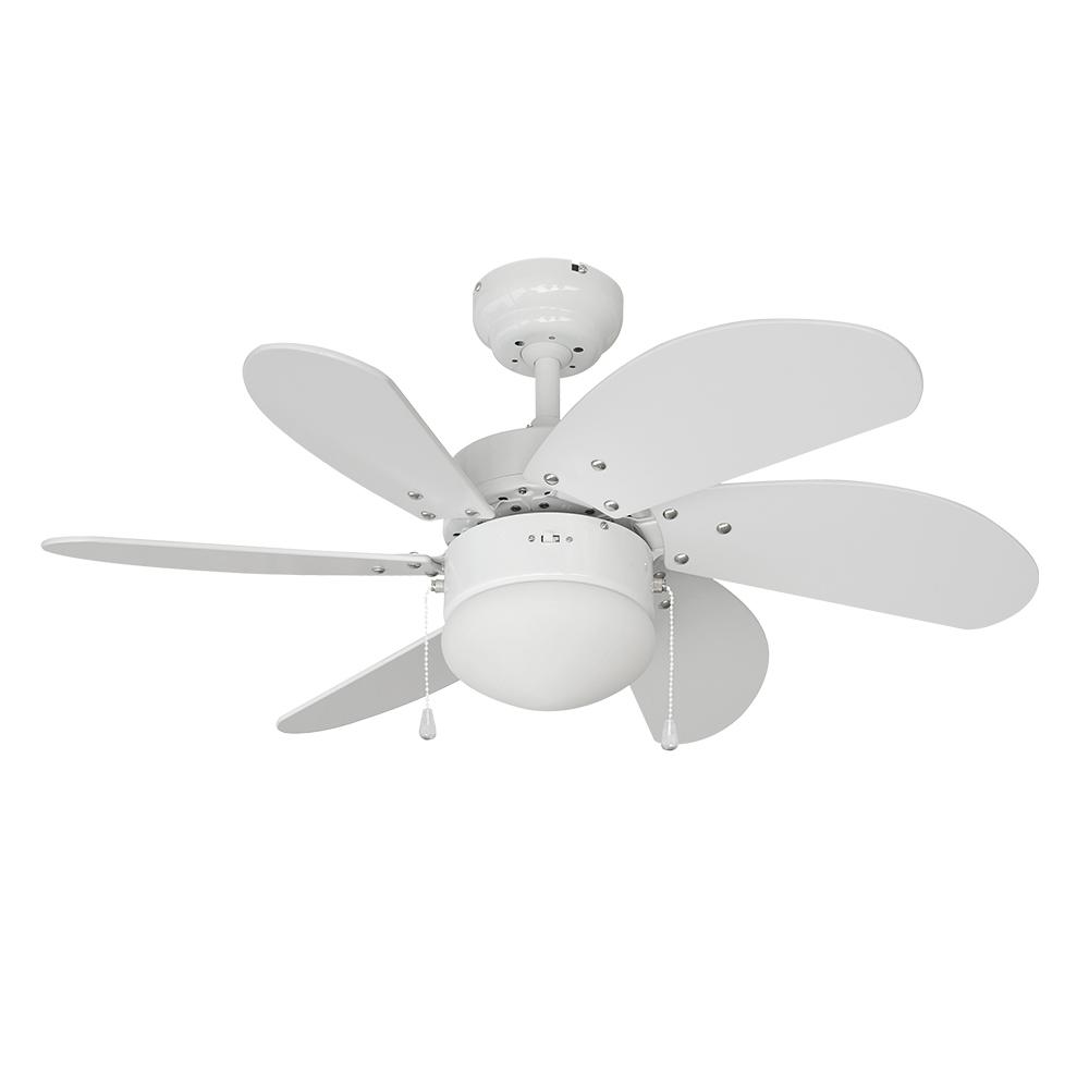 Ventilador de techo modelo aral blanco 50w ø aspas 76 cm edm