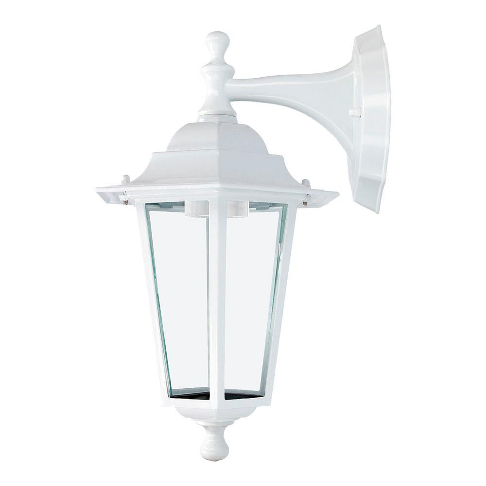 Aplique Farol Aluminio Blanco Mod. Zurich 60W E27 Ip44