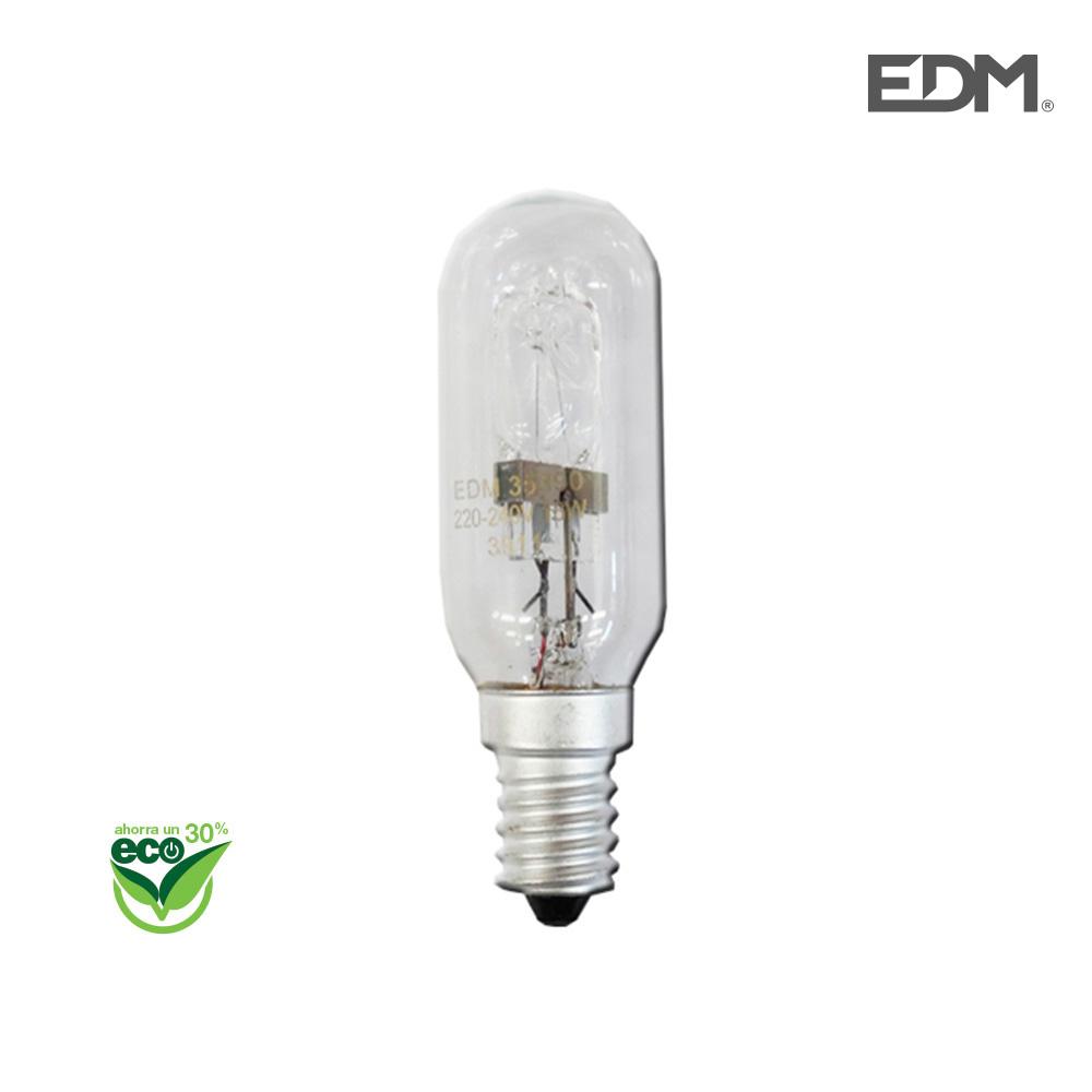 "Bombilla Halogena Pebetero (Campana Extractora) ""Energy Saver"" E14 18W Clara Edm"