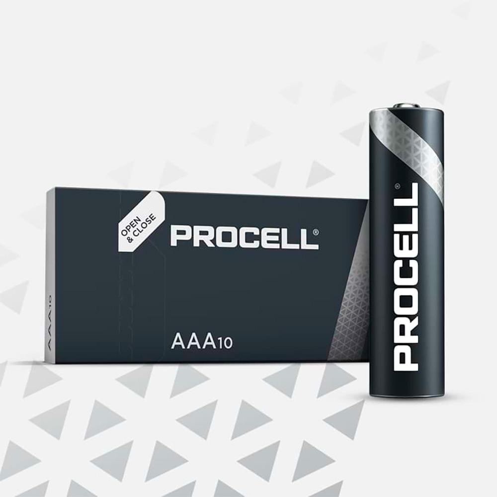 Pila Alkalina Lr06 Duracell Procell (Retractil 10 Unid.)