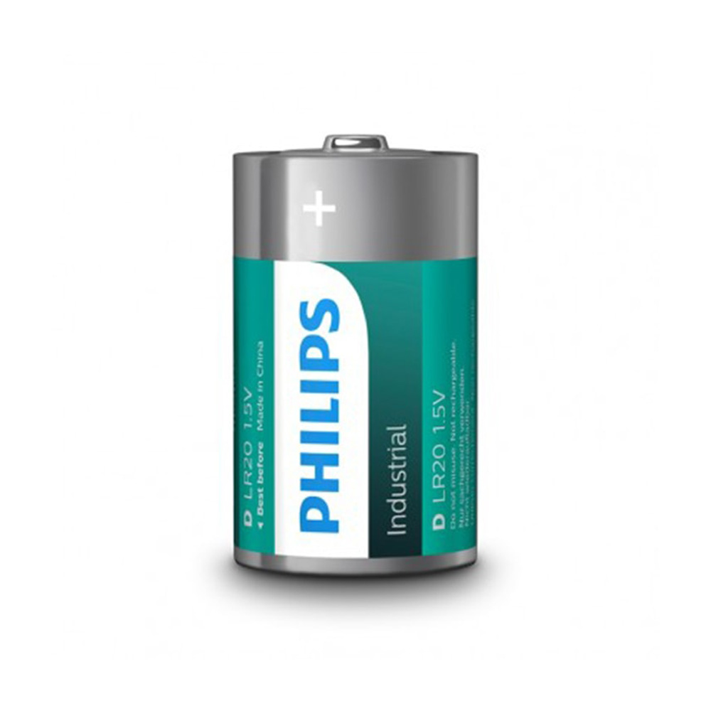 Pila Alkalina Lr20 Philips D (Retractil 10 Unid.)