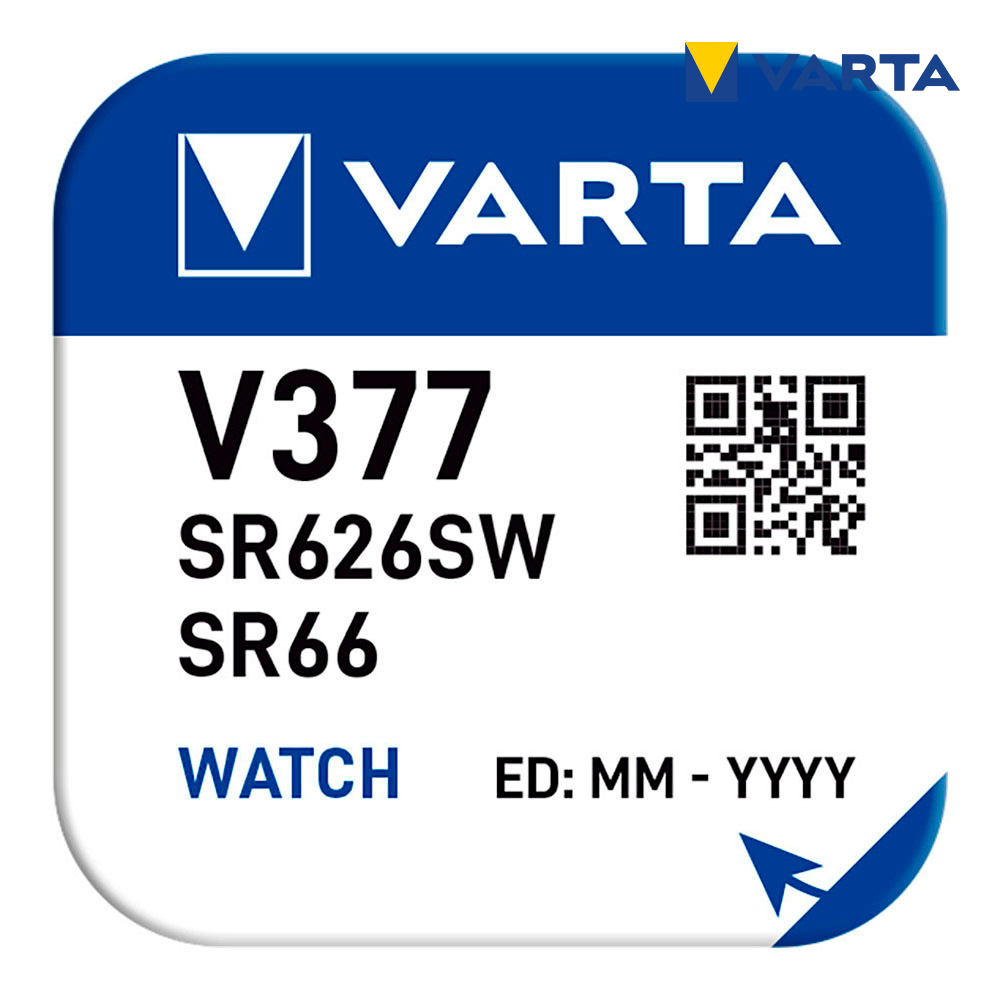 Micro Pila Boton Varta V377
