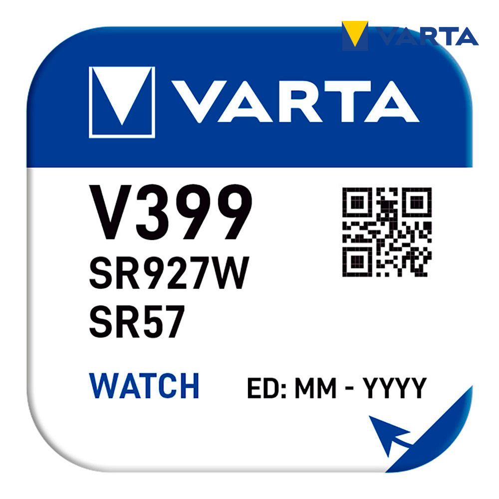 Micro Pila Boton Varta V399