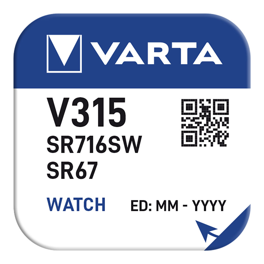 Micro Pila Boton Varta V315