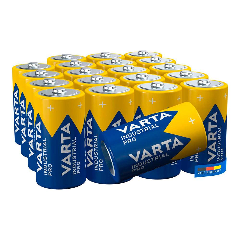 Pack 20 Pilas Lr20 D Varta Industrial Pro