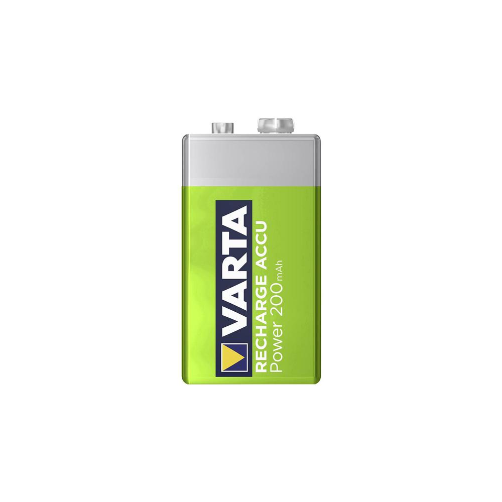 Pila Varta  Recargable  Accu Power 9V 200Mah