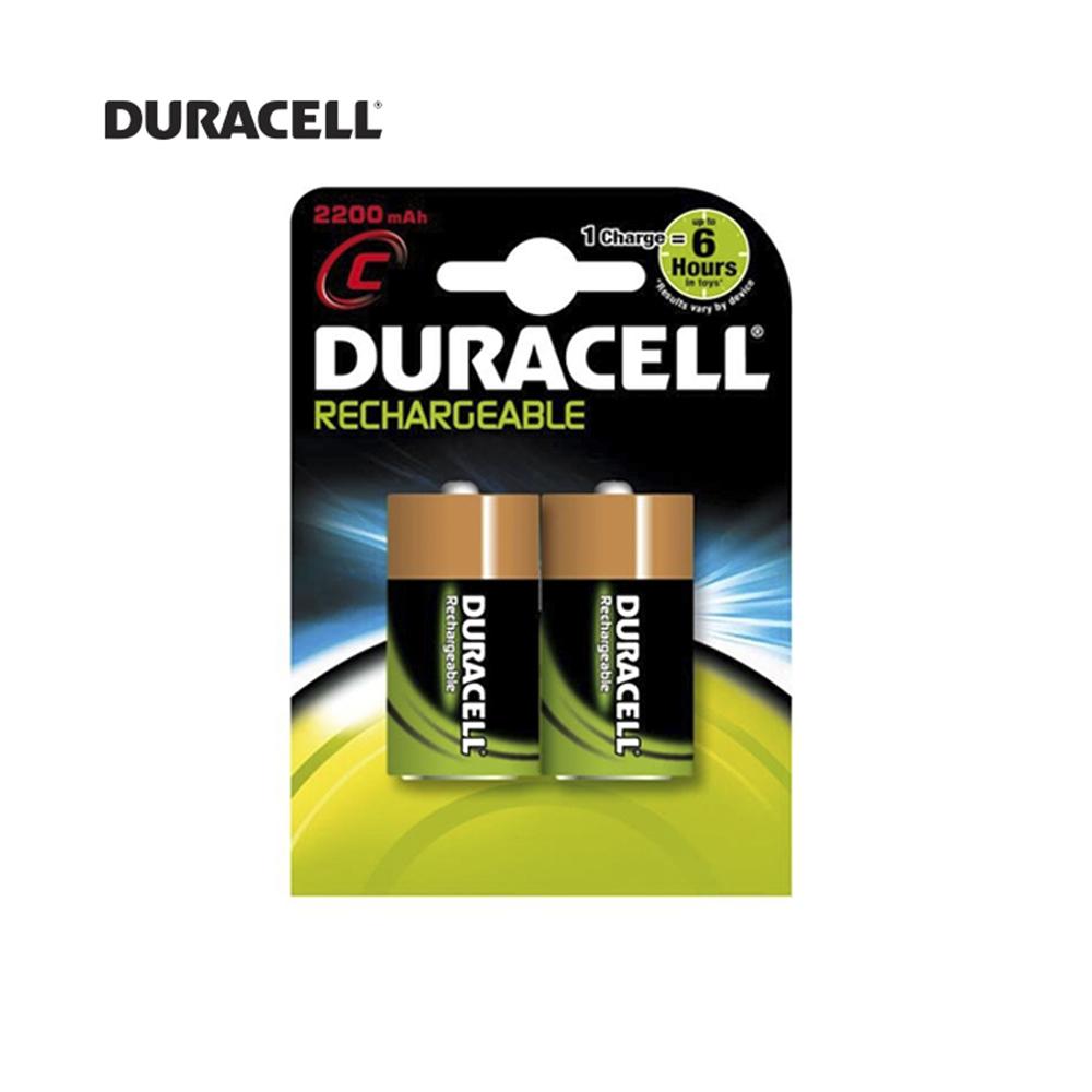 Pila Recargable R-14 22Oo Mah (Blister 2 Pilas) Duracell