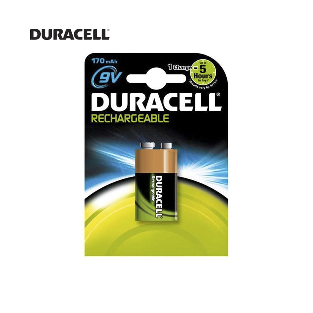 Pila Recargable 9V 6F22 170 Mah (Blister 1 Pila) Duracell