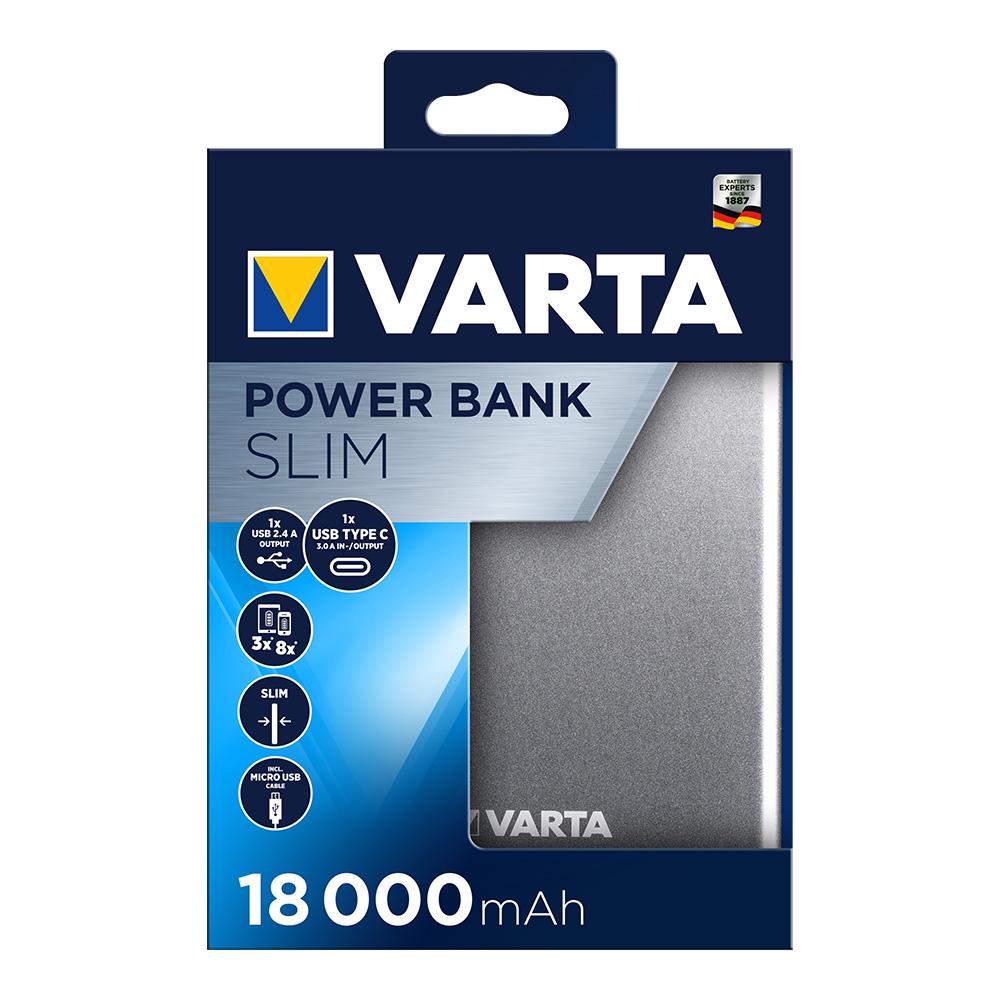 Power Bank Varta Plano 18.000 Mah
