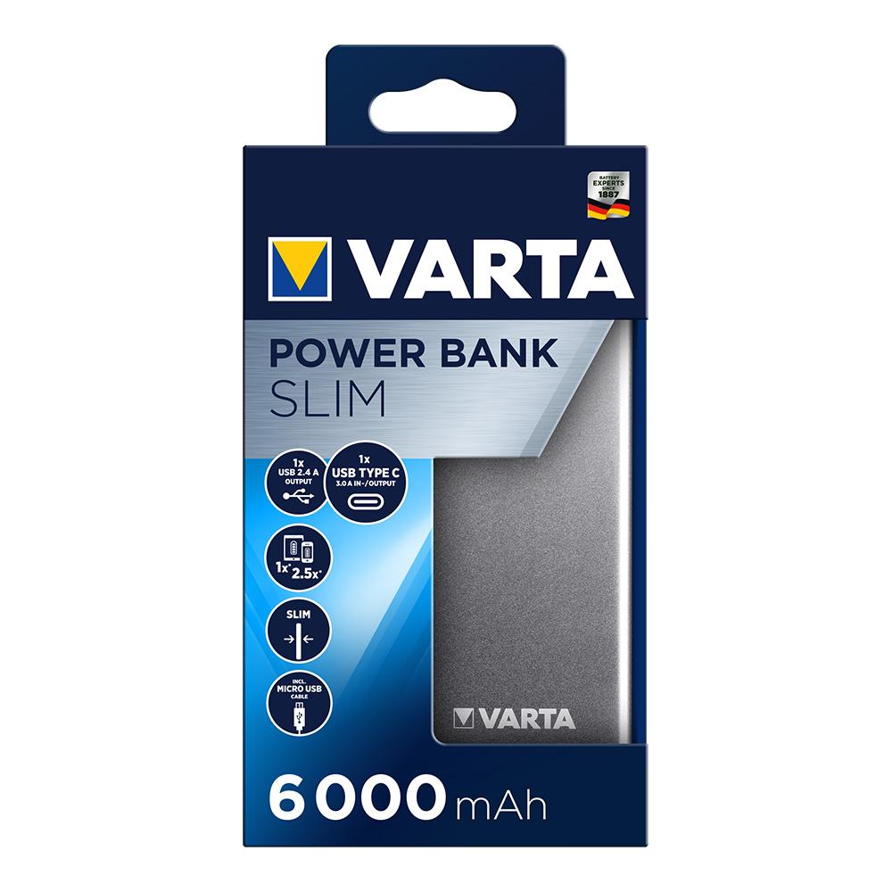 Power Bank Varta Plano 6000 Mah