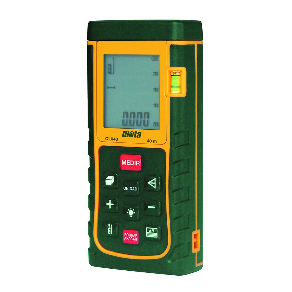Medidor Distancias Laser Mota 40M Cl040
