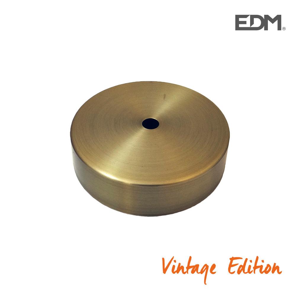 Floron Metalico Oro Viejo (Ø 9,85Cm) Kit Montaje Incluido