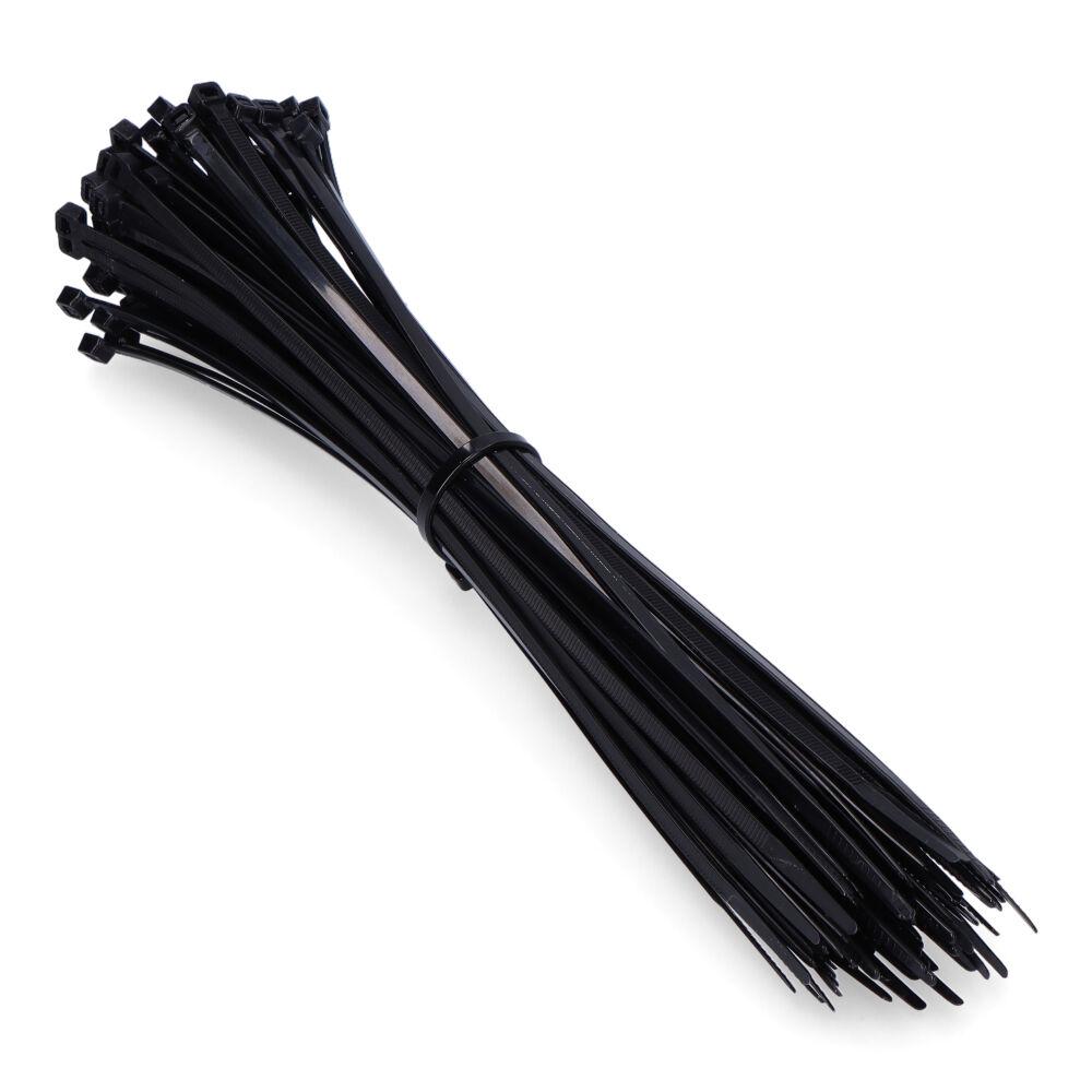 Bridas Negras  300X8 Mm. (Bolsa 100 Uni)