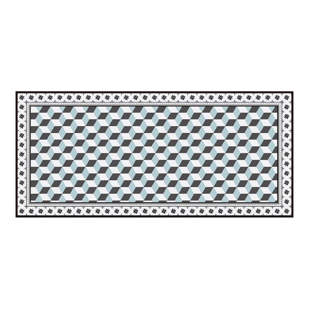 Alfombra Tapiz Vinilico Mosaico 50X109Cm