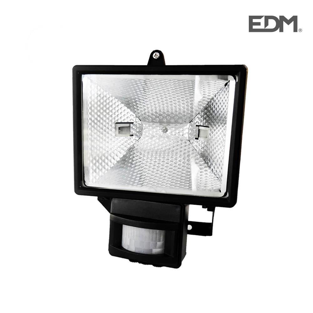 Micro Porjector Foco Halog. Con Sensor Max. 150W Negro Edm