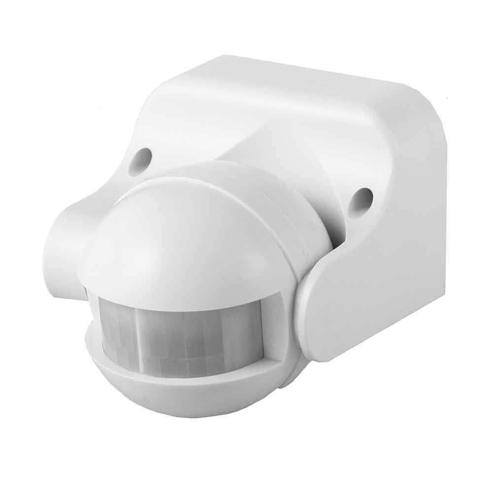 Detector De Movimiento Con Regulador  Noche/Dia 180º Ip44 Blanco Edm