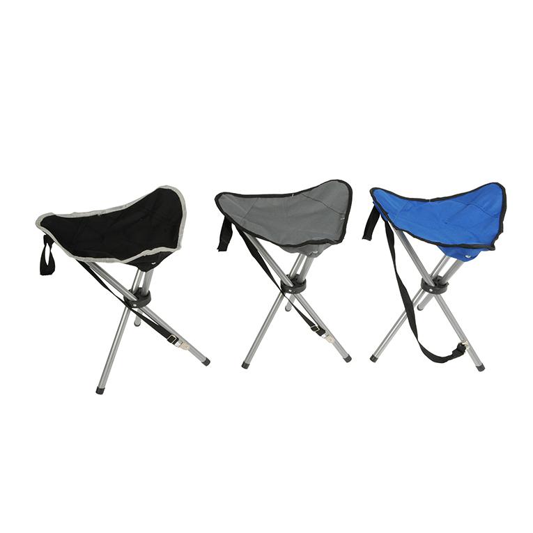 Taburete Plegable Camping 31X31X50Cm (Colores Surtidos)