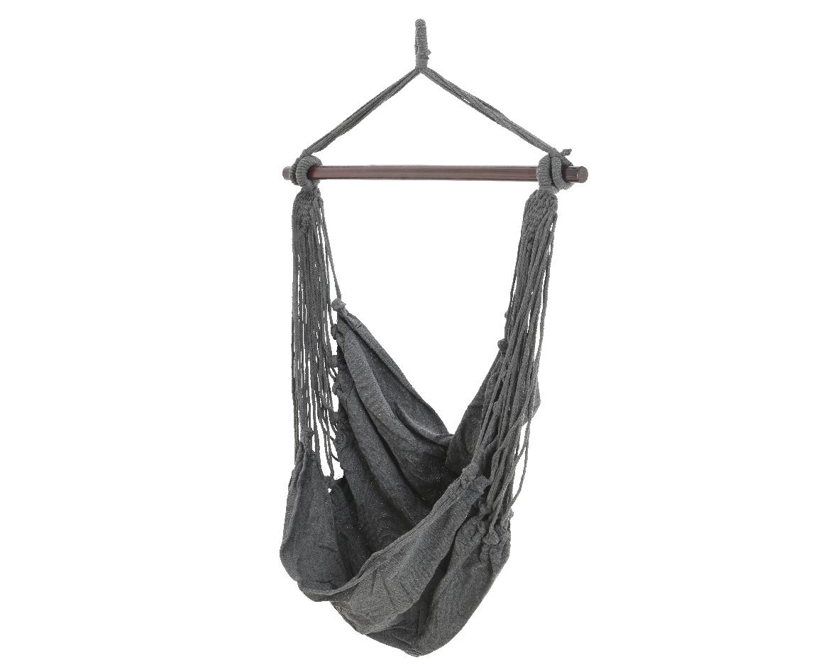 Columpio ropa modelo borneo gris antracita 130x100cm