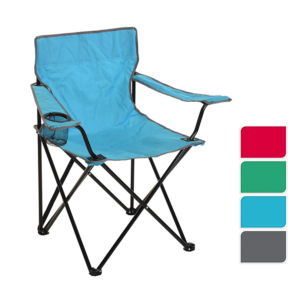 Silla Plegable Camping 81X51X42Cm Colores Surtidos