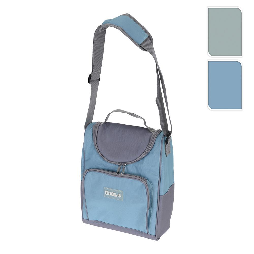 Nevera Tipo Bolsa 10L Con Bandolera Ajustable 31X24X14Cm Colores Surtidos