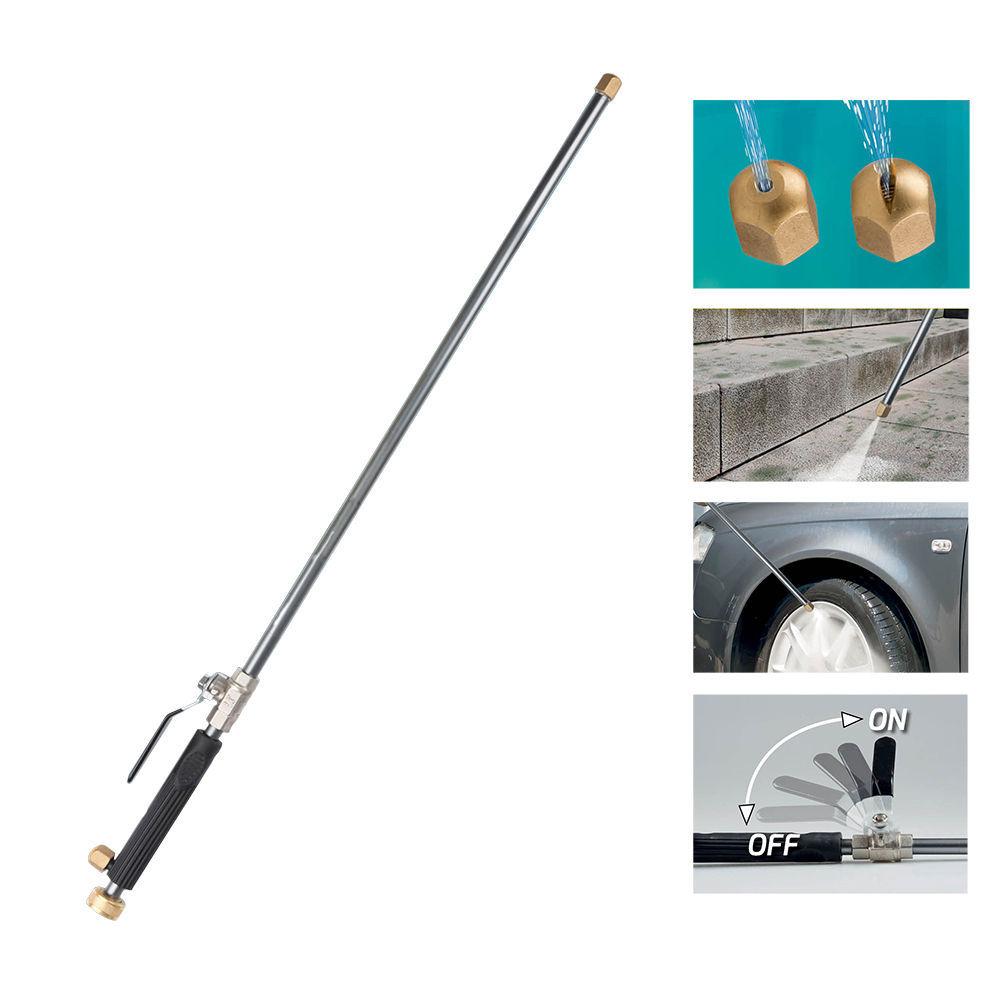 Lanza Pulverizadora De Agua 74X6X2,8Cm (Adaptable A Manguera Con Ref: 74408)