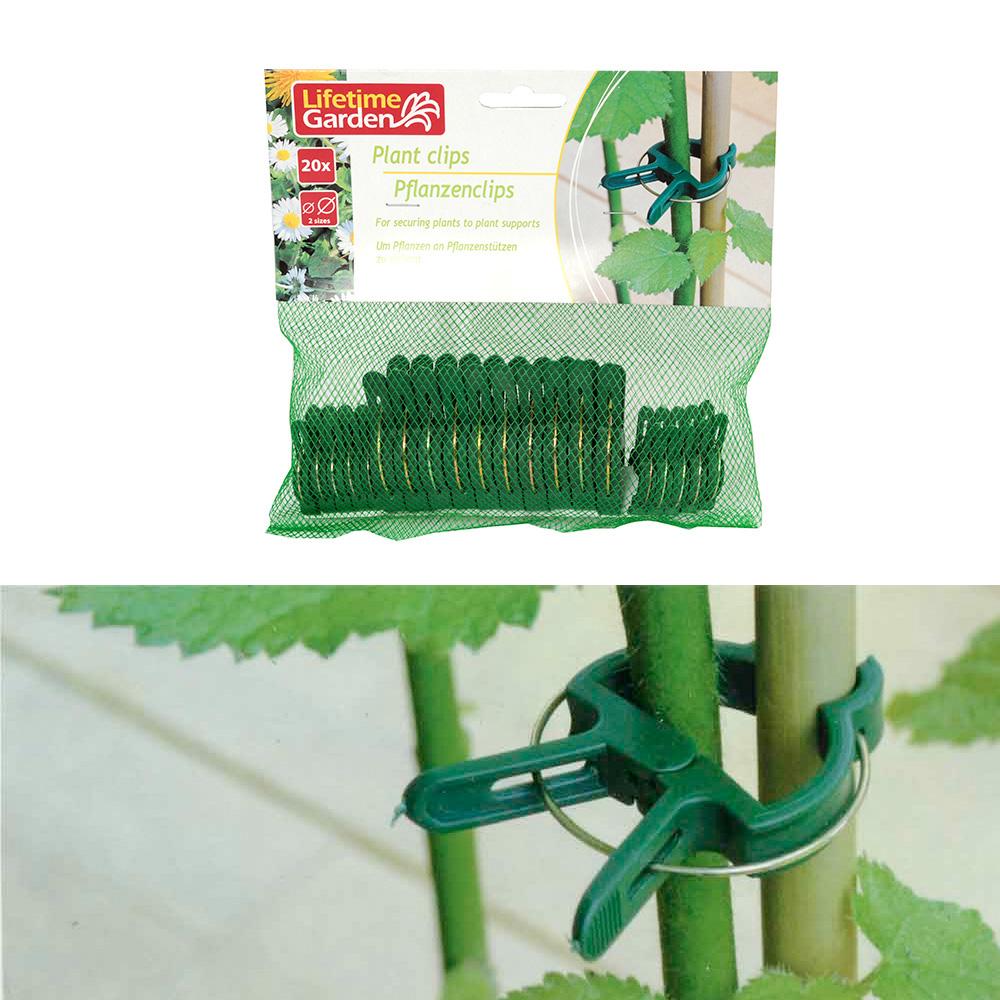 Clips Para Plantas 20Pcs