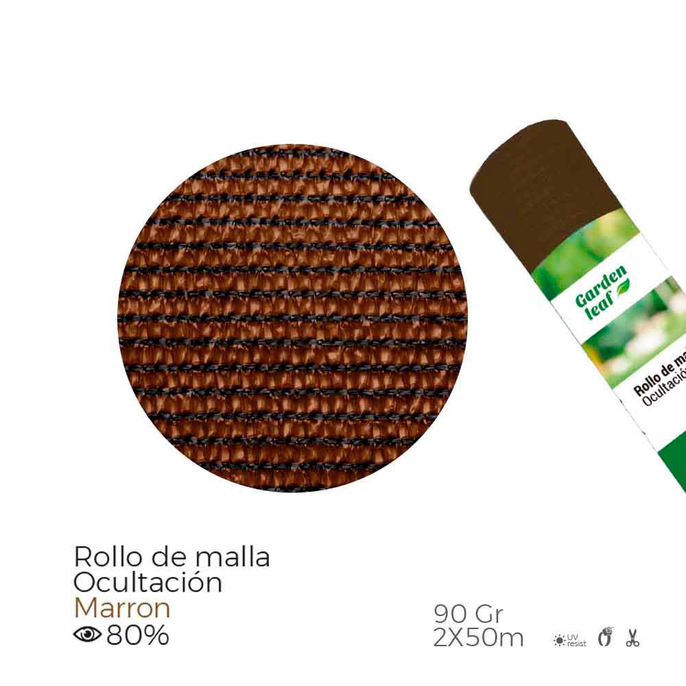 Malla Plegada Verde 80% 90G 1X10Mts