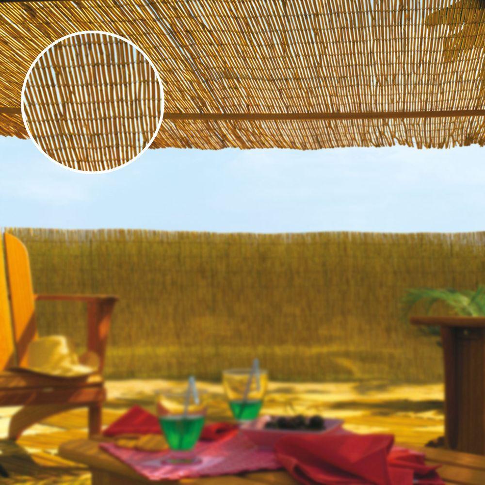 Cañizo De Bambu Natural Ø Aprox. 3 - 5Mm Medidas: 1,5X5Mts